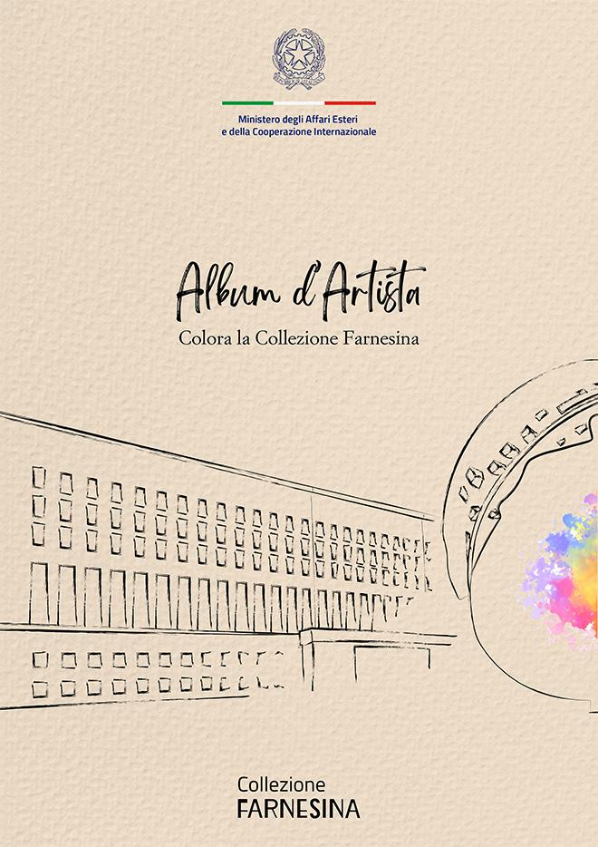 Album d'artista - Colora la Collezione Farnesina