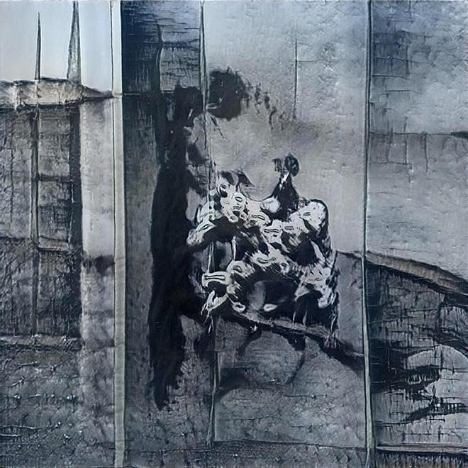 GANksy - Street art e Intelligenza Artificiale. image credit: VOLE.WTF