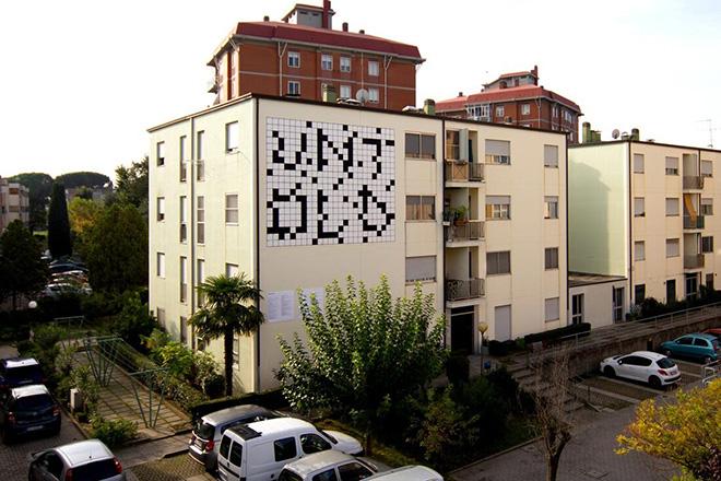 "Biancoshock – ""Untold"", murale a Ravenna"