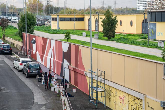 Tellas - E.P.ART, Stazione Serenissima, Roma. photo credit: ©Luisa Fabriziani