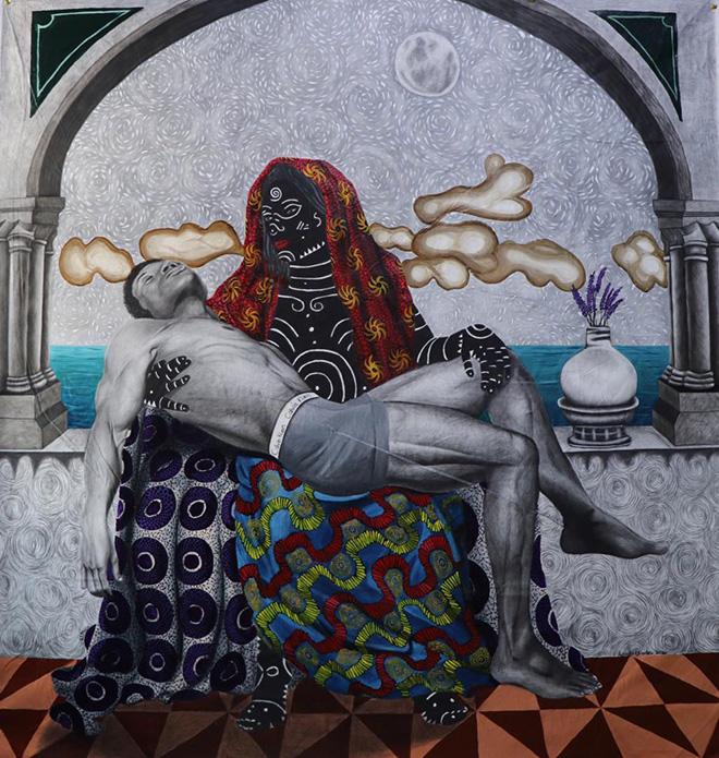 Kelechi Charles Nwaneri - La pietà, AKKA project