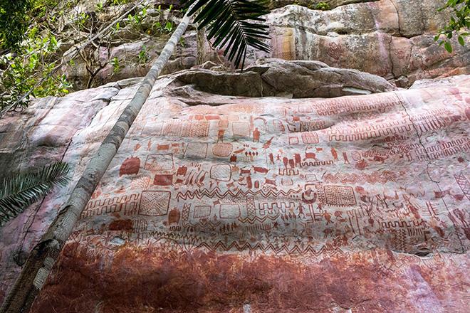 """La """"Cappella Sistina degli antichi"""" – In Amazzonia l'incredibile scoperta di arte rupestre"""