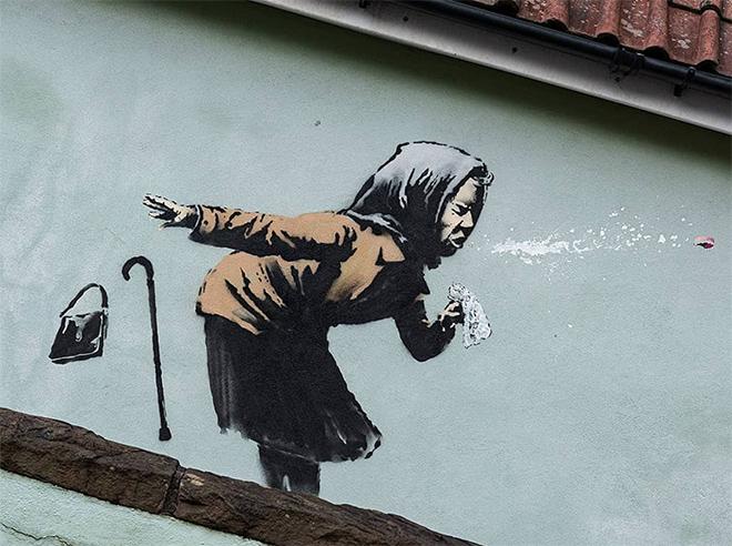 "Banksy – Aachoo!! E lo starnuto diventa ""virale"""