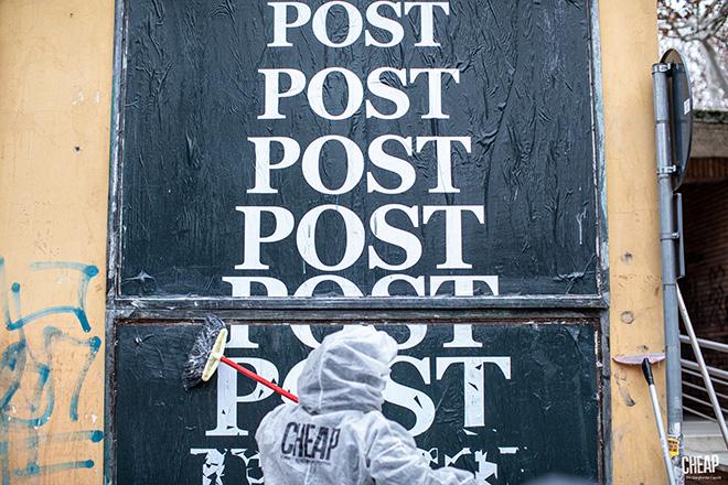 CHEAP - POST, Call for artist, backstage, Bologna. photo credit: Margherita Caprili