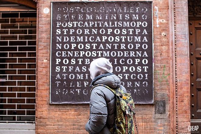 CHEAP - POST, Call for artist, via san Felice, Bologna. photo credit: Margherita Caprili