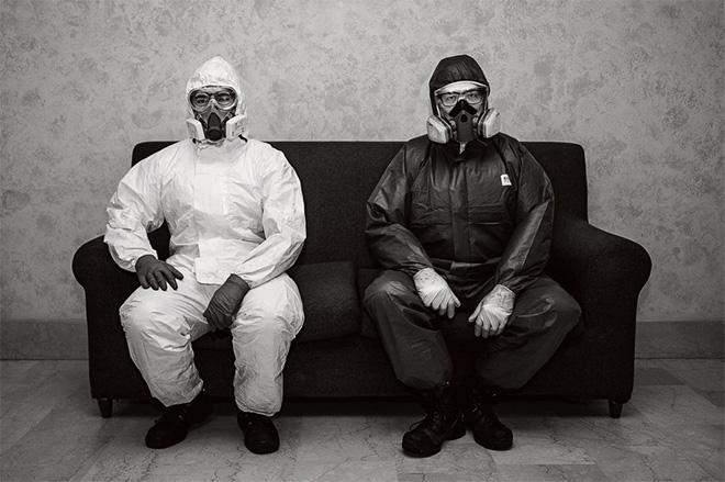 Rosario Multari - Yin e Yang (Base Militare Colle Isarco - Italia).  Life in the Time of Coronavirus, Comune di Latina