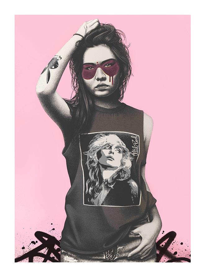 SUNDAY GIRL -  © Fin DAC/MIDARO/West-contemporary-editions.com. Mick Rock 2021