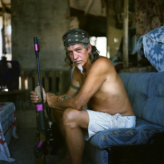 Daniel Skwarna - Desert Dweller, (Karibe in his living room)