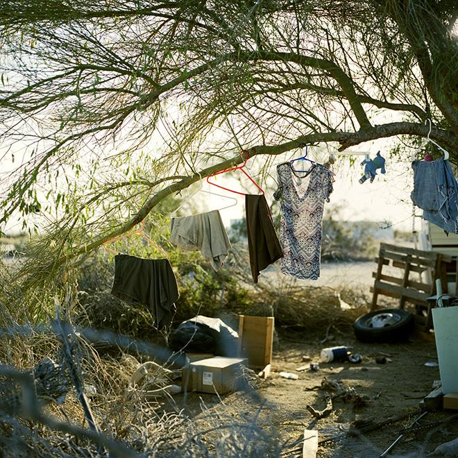 Daniel Skwarna - Desert Dweller, (Clothes drying)
