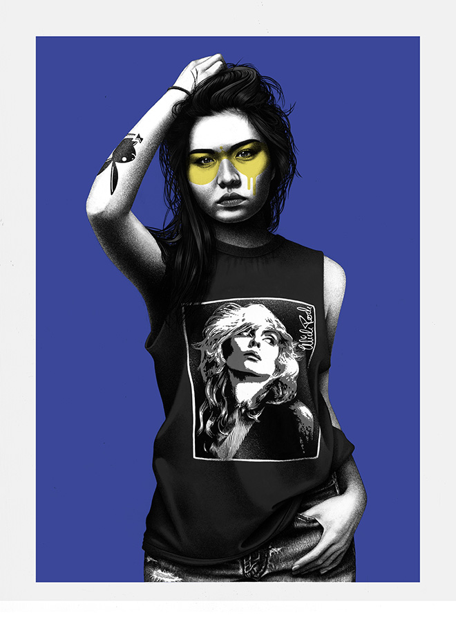 Heart of Glass - © Fin DAC/MIDARO/West-contemporary-editions.com. Mick Rock 2021