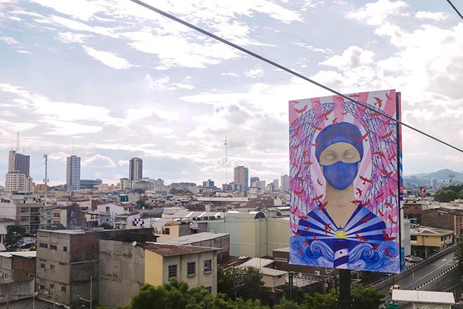 Aeroarte - Guayaquil (Ecuador): la prima galleria d'arte aerea al mondo
