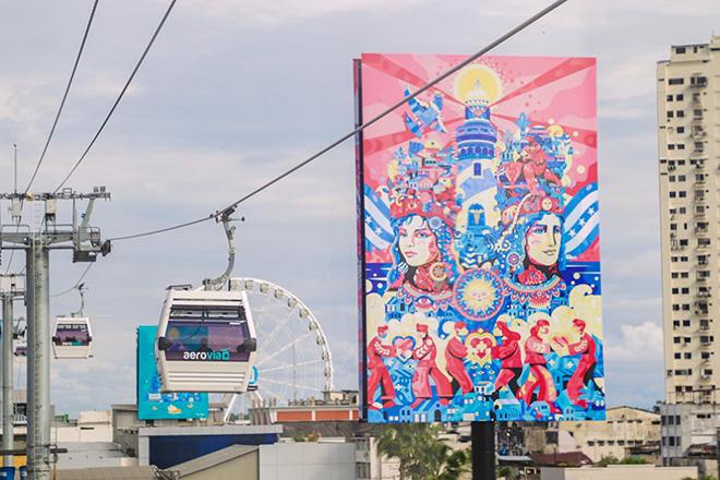 Aeroarte – Guayaquil: la prima galleria d'arte aerea al mondo