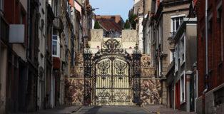 Borondo - P A S S A G E, Street Art Boulogne-sur-Mer Festival Boulogne-sur-Mer, France 2020