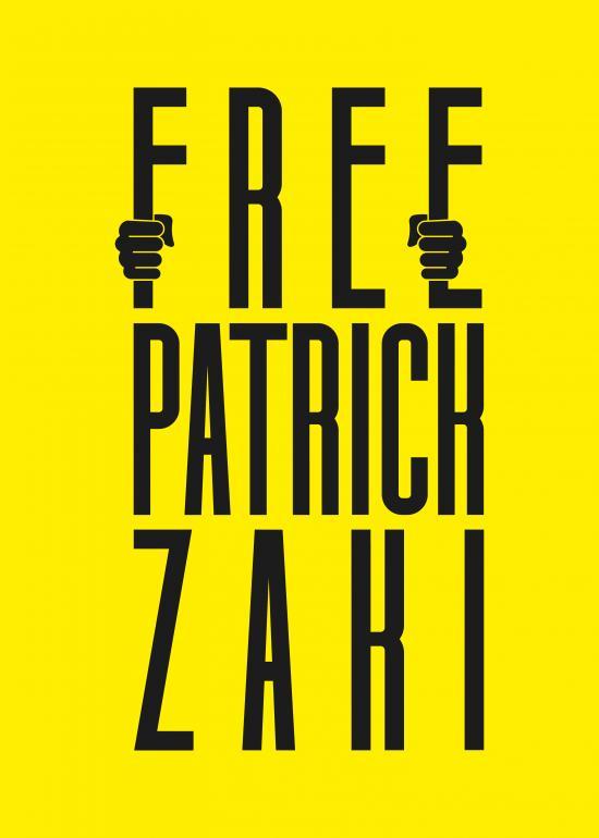 Michele Carofiglio (Italy) - Free Patrick Zaki, prisoner of conscience - Poster For Tomorrow 2021