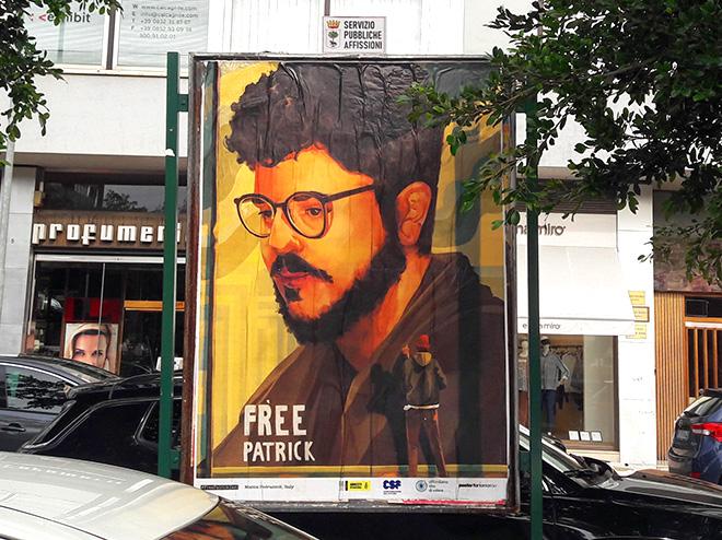 """""""Free Patrick Zaki, prisoner of conscience"""" – Poster For Tomorrow 2021"""