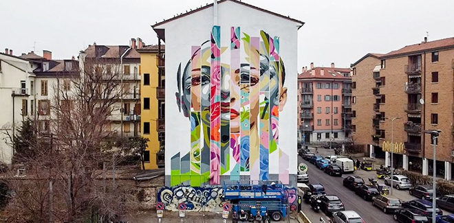 Orticanoodles – INSIDE (mostra + murale) a Milano