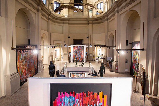 Orticanoodles, Inside, Studio Museo Francesco Messina, Milano. Photo credit: Lorenzo Passoni