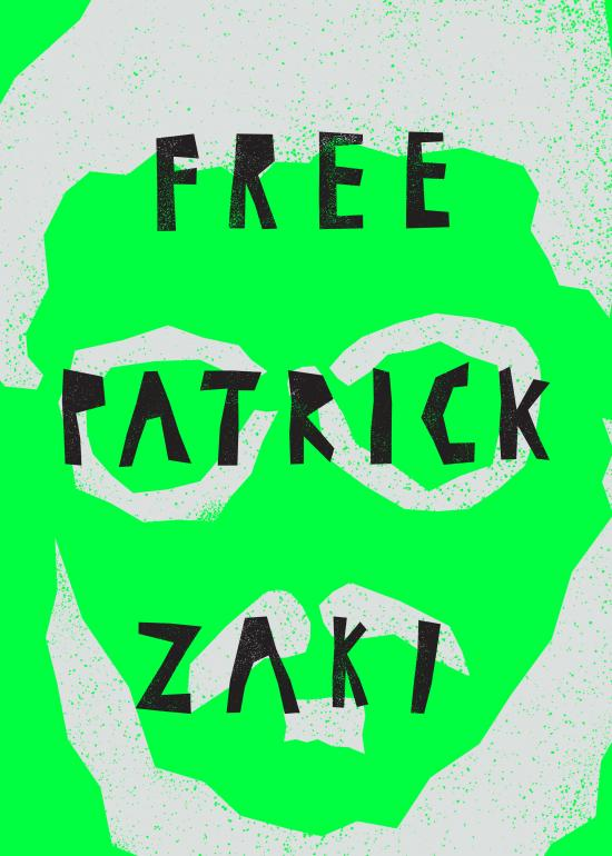 Rodrigues Andreia (Portugal) - Free Patrick Zaki, prisoner of conscience - Poster For Tomorrow 2021