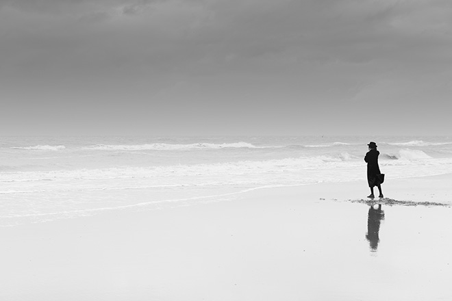 Eddy Verloes - Losing our minds, The sea watcher