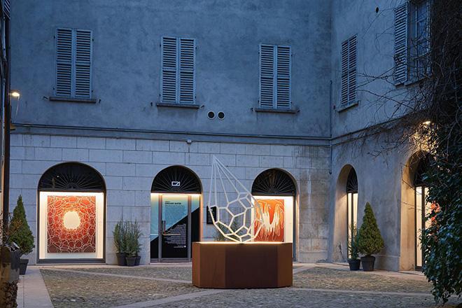 Andreco - Ground Water, installation view, Reggio Emilia, Italy