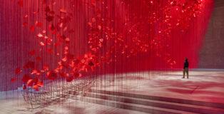 Chiharu Shiota - I HOPE, KÖNIG GALERIE NAVE, St. Agnes, Berlin
