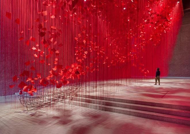 Chiharu Shiota – I HOPE