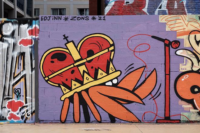 Edjiin - Graffiti Jam a Barcellona, Parque de las Tres Chimeneas, (Libertà per Pablo Hasel). photo credit: Fer Alcalá