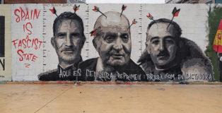Roc Blackblock - Graffiti Jam a Barcellona, Parque de las Tres Chimeneas, (Libertà per Pablo Hasel)