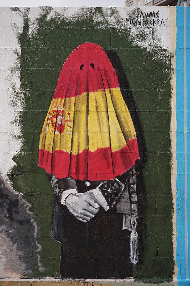 Jaume Montserrat - Graffiti Jam a Barcellona, Parque de las Tres Chimeneas, (Libertà per Pablo Hasel). photo credit: Fer Alcalá