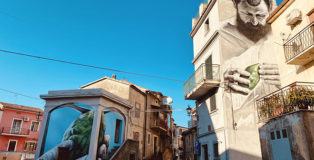 Antonino Perrotta per LAOS - Operazione Street Art a S. Maria del Cedro (CS)