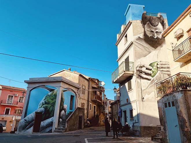 Antonino Perrotta per LAOS – Operazione Street Art a S. Maria del Cedro (CS)