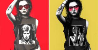 Mick Rock x Fin DAC - MIDARO