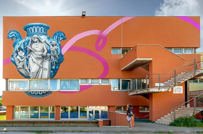OZMO - Back to school, Mickey Mouse! Albisola Superiore. photo credit: Anna Spirito Fotografa in Albisola