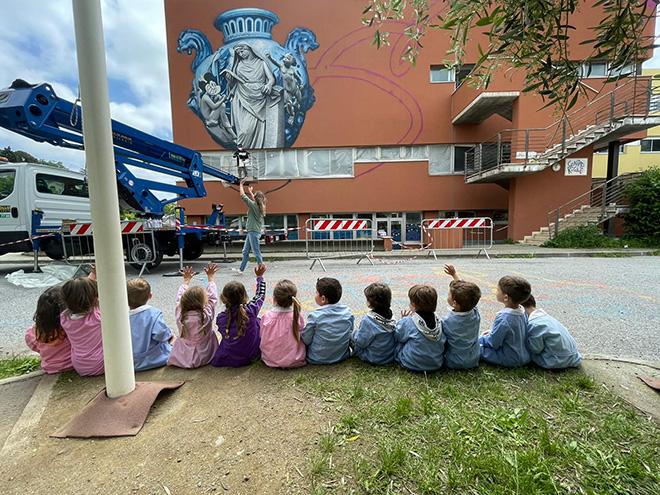 OZMO - Incontro con gli studenti. Istituto Comprensivo Albisola. photo credit: Simona Poggi
