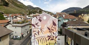 TELLAS - Mimesi series (Breathe! Project), 2021, Bolzano. Curated by OUTBOX. photo credit: ©Tiberio Sorvillo