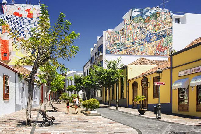 Calle Real Los Llanos de Aridane. photo credit: D. Dahncke