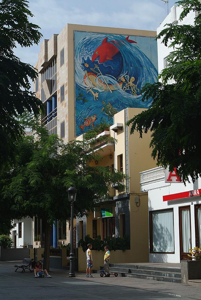 Calle Los Llanos de Aridane. photo credit: Ayto Los Llanos