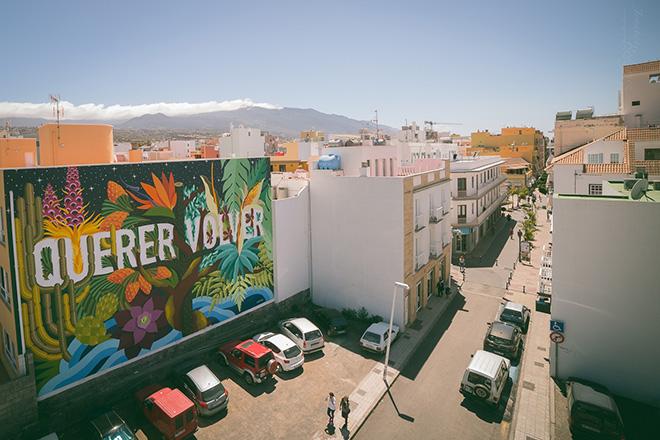 Arte e colore a Los Llanos de Aridane – Street art alle Canarie