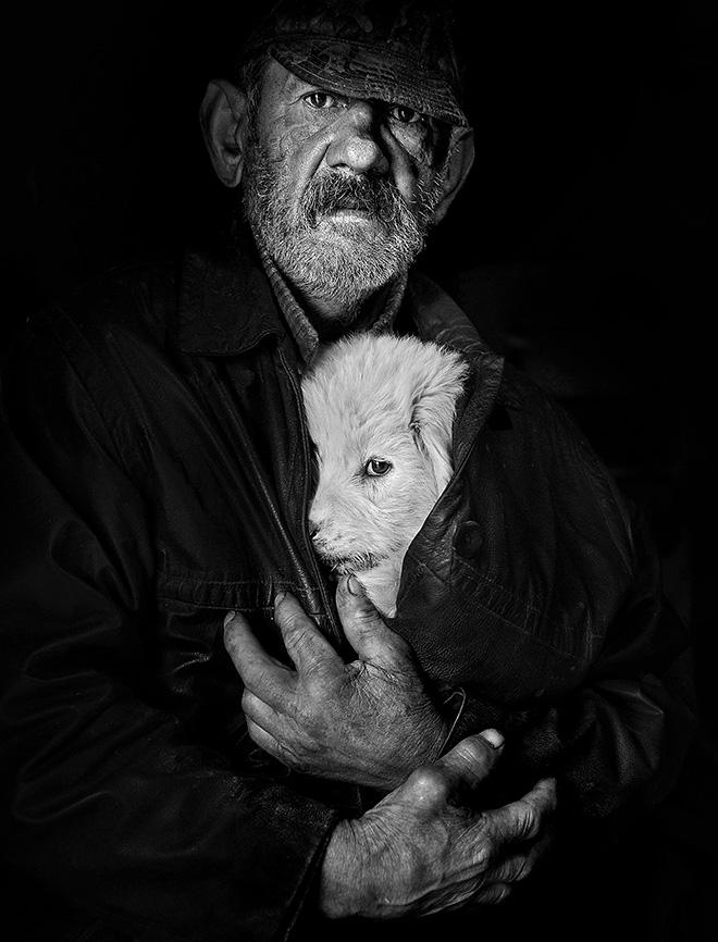 Istvan Kerekes - Shepherds from Transylvania