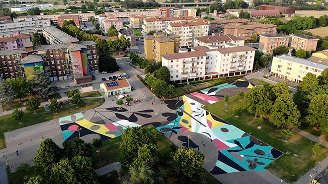 Tellas - Agorà, Without Frontiers, Lunetta a Colori, Mantova. photo credit: Gianmaria Pontiroli