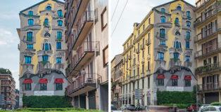 Cheone - The Vision, murale, Corso di Porta Romana 111, Milano