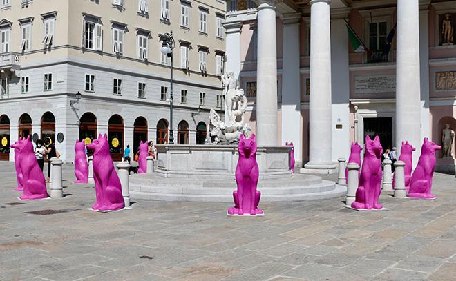 Cracking Art - INCANTO, allestimento installazioni, Trieste, 2021