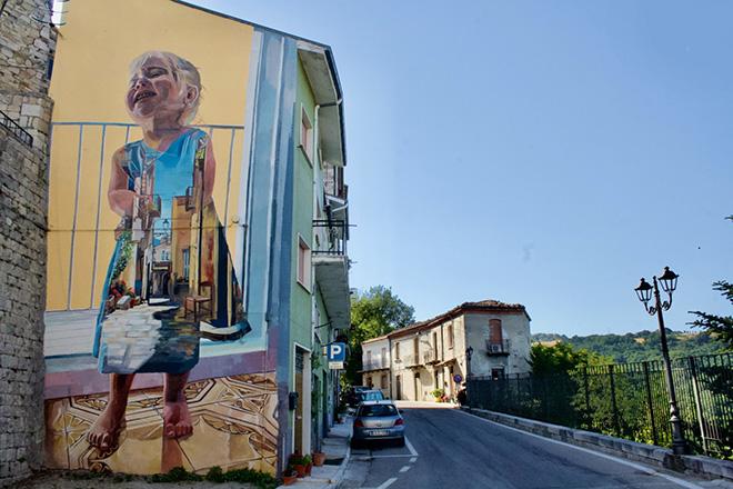 Cvtà Street Fest 2021 – A Civitacampomarano la street art è nuovamente di casa