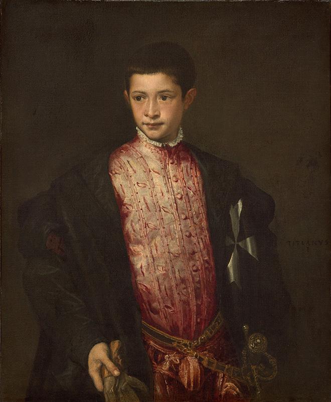 Titiaan, Ranuccio Farnese, 1952