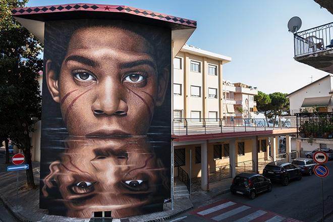 Diamante Murales 40 – Nuove opere di arte urbana con: Jorit, Tony Gallo, Kraser, SteReal