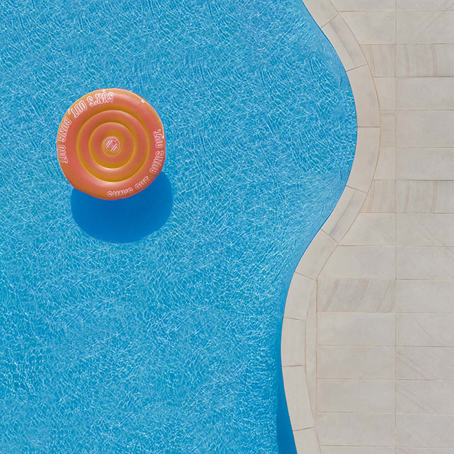 Brad Walls - Pools from above, First place Aerial category, Minimalist Photography Awards