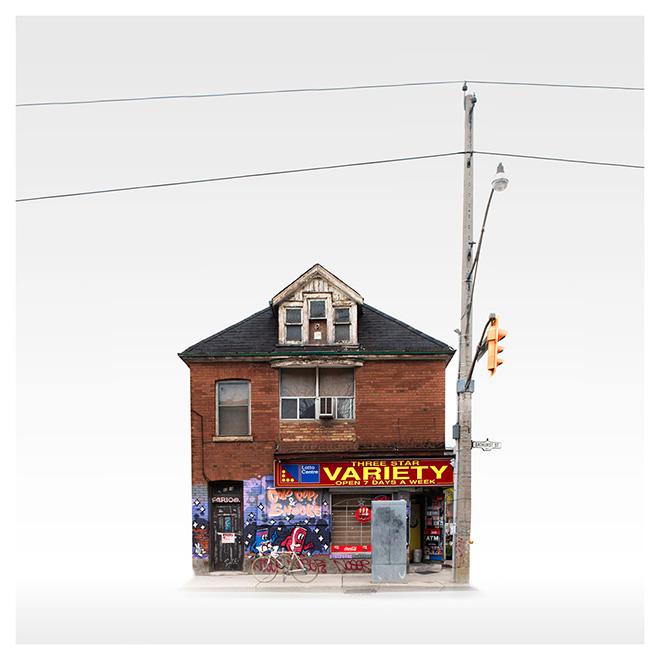 Francisco Riquelme-Montecinos - Toronto 100Variety, First place Photomanipulation, Minimalist Photography Awards