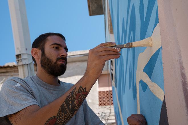 Yopoz - Work in progress, Rotondella, AppARTEngo, Festival 2021. Photo credit: Cristina Carbonara