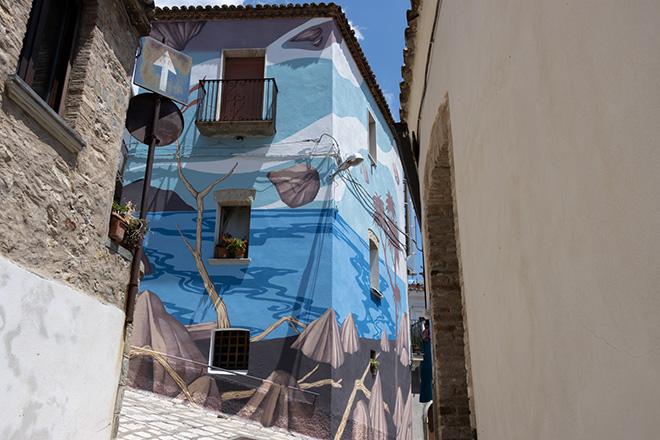 Yopoz - Rotondella, AppARTEngo, Festival 2021. Photo credit: Antonio Valente (Scuola Spazio Tempo)