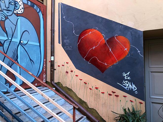 Adotta un vicolo - Street art e riqualificazione urbana a Carrara